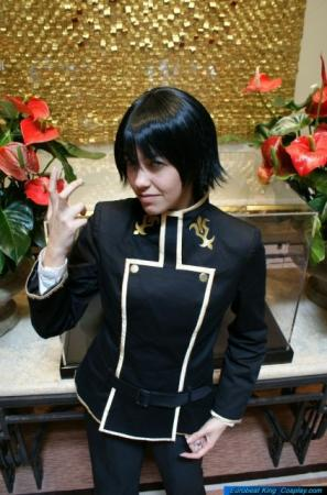 Lelouch Lamperouge from Code Geass (Worn by Eve)