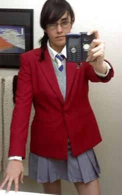Hana Adachi from Yankee-kun & Megane-chan worn by Eve