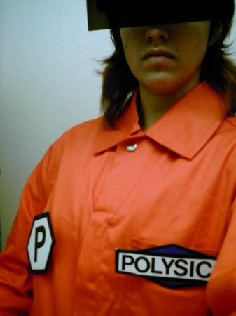 Yano from Polysics worn by Eve