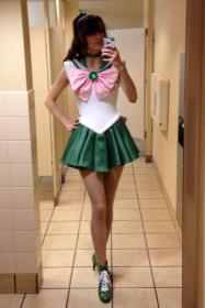 Sailor Jupiter from Sailor Moon worn by Katie
