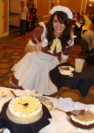Maid from Original Design worn by Katie