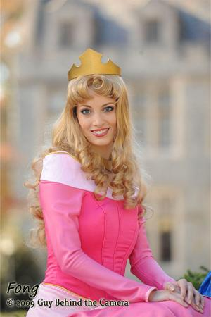 Princess Aurora from Sleeping Beauty worn by Katie