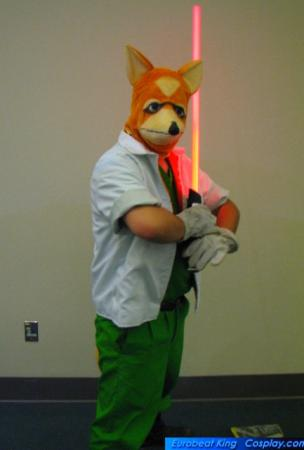 Fox McCloud from Super Smash Bros. worn by Usagi Auron