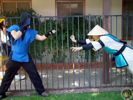 Sub-zero from Mortal Kombat worn by Usagi Auron