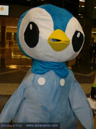 Piplup from Pokemon worn by Usagi Auron