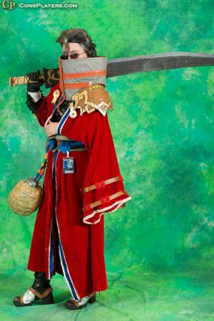 Auron from Final Fantasy X worn by Amidoji