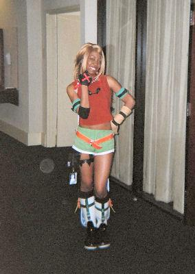 Rikku from Final Fantasy X worn by Mocha