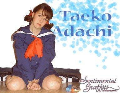 Taeko Adachi from Sentimental Graffiti