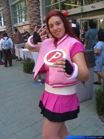 Blossom from Powerpuff Girls Z worn by Kokuu