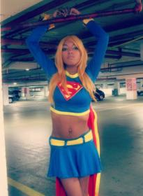 Supergirl from DC Comics worn by Resha