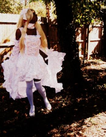 Chi / Chii / Elda from Chobits worn by Raven Satinka