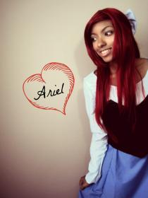 Ariel from Little Mermaid worn by Resha