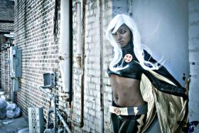 Storm from X-Men worn by Resha
