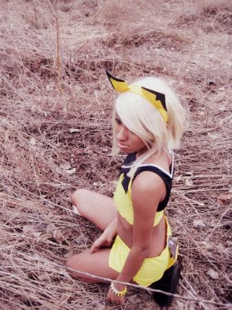 Pichu from Pokemon worn by Resha