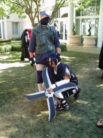 Kakashi Hatake from Naruto worn by Phanari