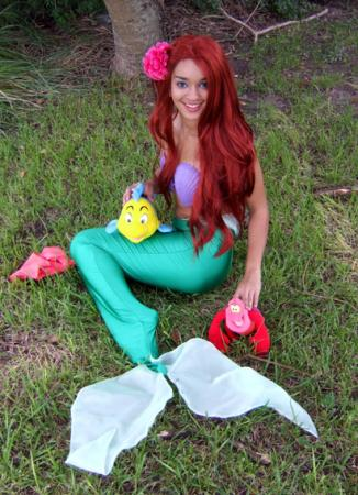 Ariel from Kingdom Hearts worn by Ryo-sama