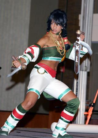 Talim from Soul Calibur 2 worn by Ryo-sama