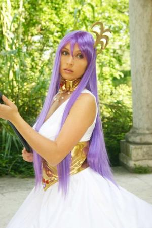 Athena from Saint Seiya worn by Giorgia