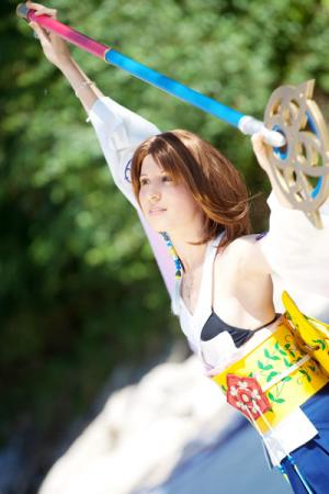 Yuna from Final Fantasy X worn by Kairi_Heartless