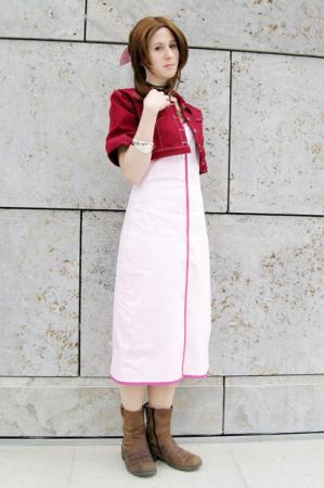 Aeris / Aerith Gainsborough from Final Fantasy VII: Advent Children worn by Kairi_Heartless