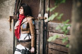 Mikasa Ackerman from Attack on Titan worn by Kairi_Heartless