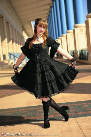 Bat/Vampire from Original: Gothic Lolita / EGL / EGA worn by Lolita Minako