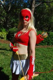 Arrowette from Young Justice worn by Lolita Minako