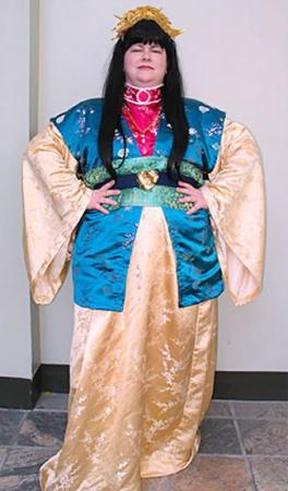 Empress Shushou of Kyou from Twelve Kingdoms