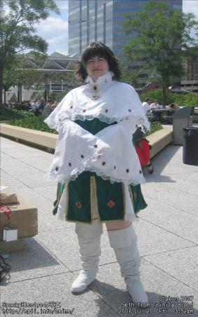 Seth Nightlord / Augusta Vradica from Trinity Blood worn by Hikaruchan