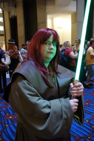 Jedi from Star Wars worn by Hikaruchan