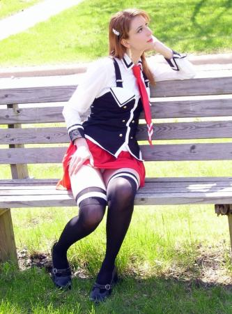 Schoolgirl from Bible Black worn by Cosplay Kitten