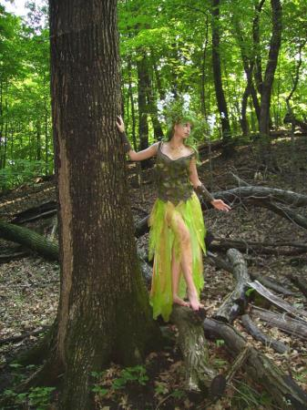 Dryad from Original:  Fantasy worn by Cosplay Kitten