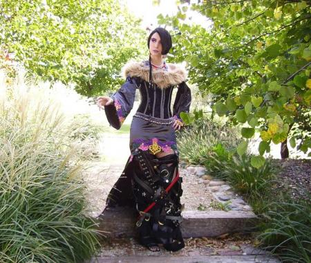 Lulu from Final Fantasy X worn by Cosplay Kitten