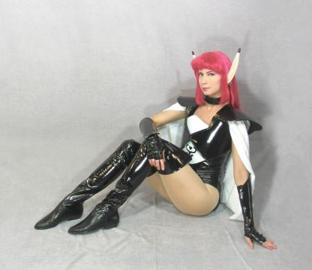 Rika from Phantasy Star IV worn by Cosplay Kitten