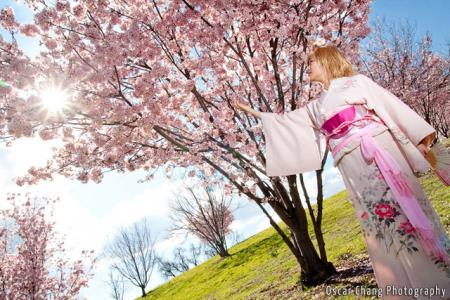 Sakura from Tsubasa: Reservoir Chronicle (Worn by Aria)