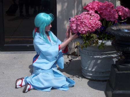 Yukina from Yu Yu Hakusho