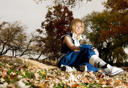 Zidane from Final Fantasy Dissidia
