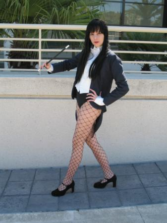 Zatanna Zatarra from Justice League worn by Portable Pies