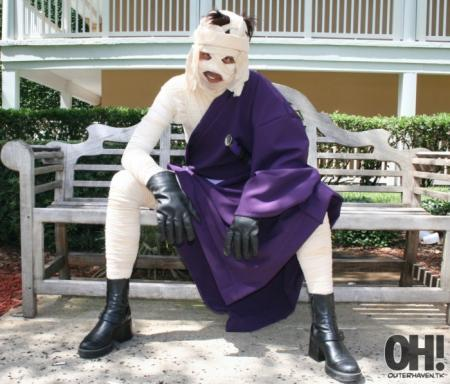 Makoto Shishio from Rurouni Kenshin worn by Portable Pies