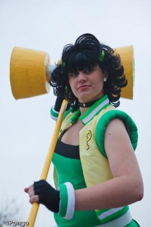 Buttercup from Powerpuff Girls Z worn by Kagzilla