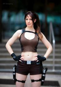 Lara Croft from Tomb Raider worn by Fire Lily