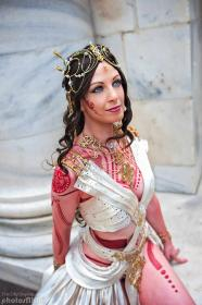 Dejah Thoris from John Carter worn by Fire Lily