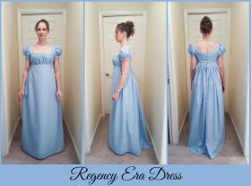 Regency from Original:  Historical / Renaissance worn by Fire Lily