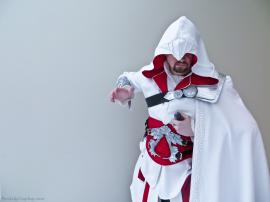Ezio Auditore da Firenze from Assassin's Creed Brotherhood worn by Fire Lily