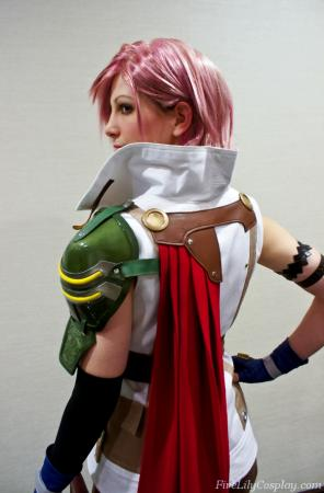 Lightning from Final Fantasy XIII worn by Fire Lily