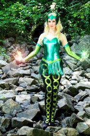 Enchantress from Marvel Comics by Fire Lily