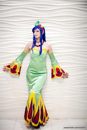 Riddel Viper from Chrono Cross worn by Fire Lily
