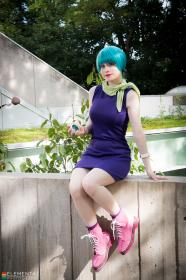Bulma Briefs from Dragonball Z worn by Stray Wind