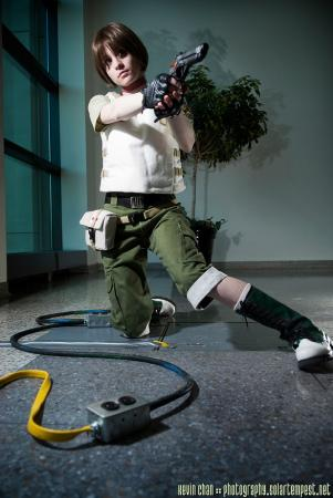 Rebecca Chambers from Resident Evil 0 worn by Stray Wind