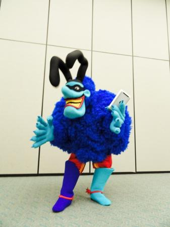 Blue Meanie from Yellow Submarine